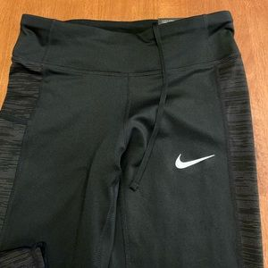 Black Nike Running Tights